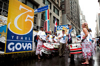 Goya Celebrates 75 Years with the Batala Drummers at the Dominican Republic Parade in NYC - 8.14.11